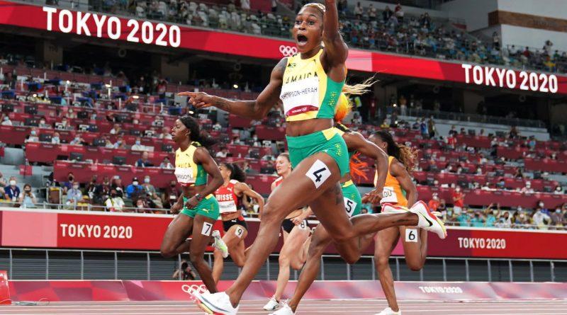 Jamaica sweeps 100m podium, Djokovic leaves with nothing