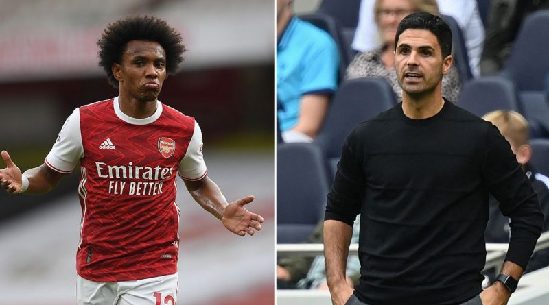 Arteta's transfer promise up in smoke as Willian 'tears up' Arsenal contract