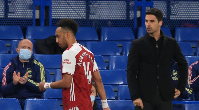 Aubameyang could become latest Arsenal casualty as Arteta's new plan emerges
