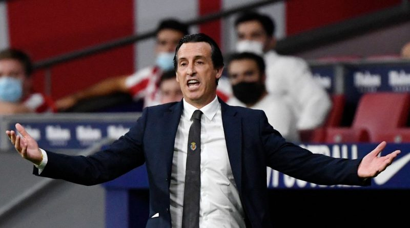 Unai Emery saw his side denied in stoppage time