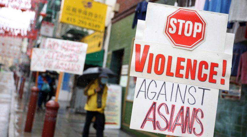 Hate crimes against Asian and Black people rise sharply in the U.S., FBI says