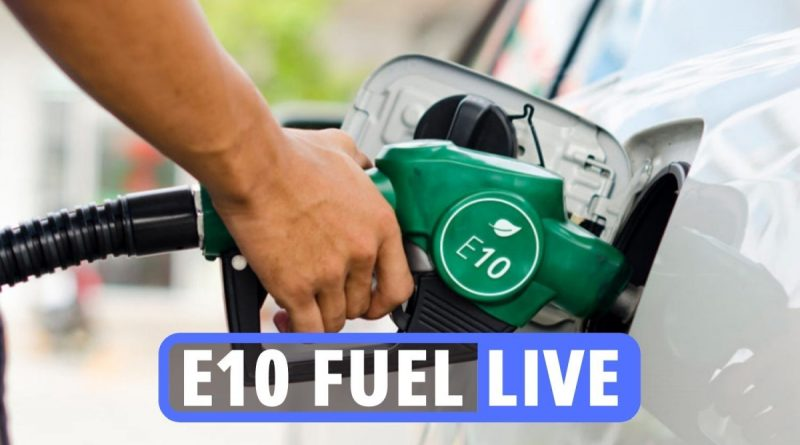 Latest updates as E10 fuel launches TOMORROW but 500k drivers can't use it