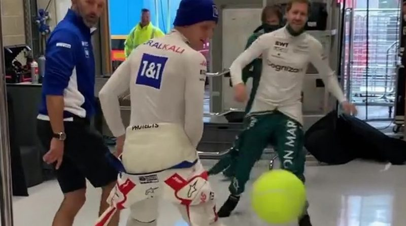 Mick Schumacher's poignant nod to dad Michael during Belgian Grand Prix delay