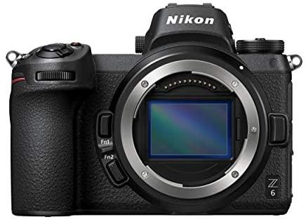 Nikon Z6 Body Mirrorless Camera (24.5 megapixel, Ultra wide ISO, 12 fps, Eye-Detection AF, 4K movie) VOA020AE