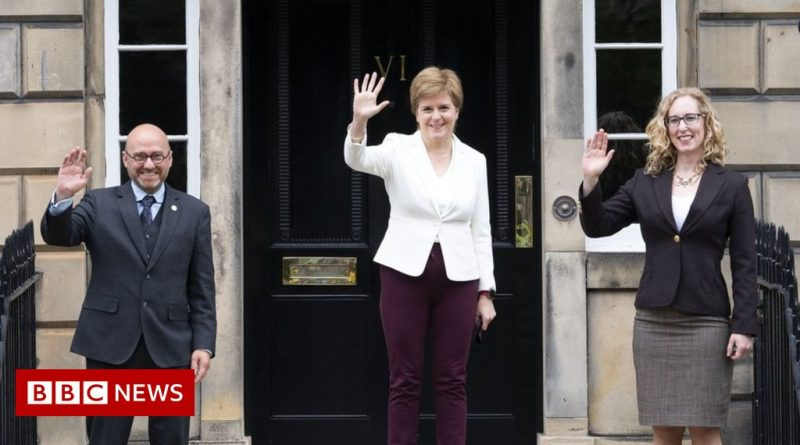 Scottish Green co-leaders given ministerial roles