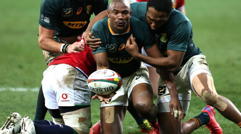 South Africa announce team for third and final British and Irish Lions Test