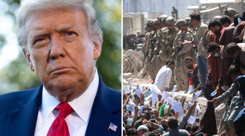 Trump says Afghanistan should've been left to rot after suggesting RE-INVASION