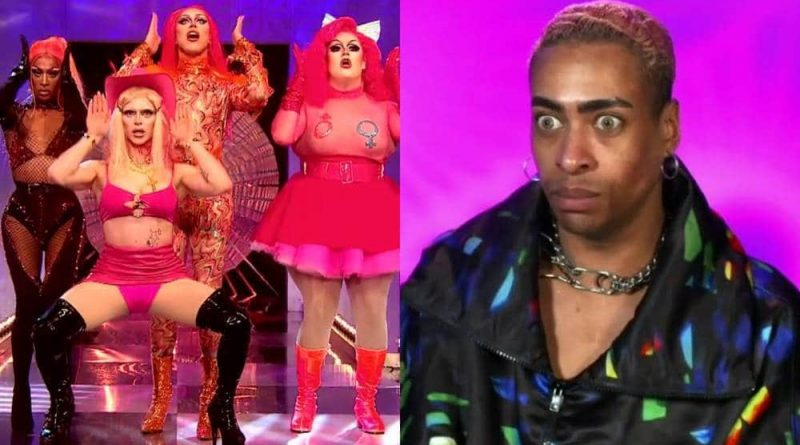 A side by side image of Drag Race UK contestants from the United Kingdolls and Tayce