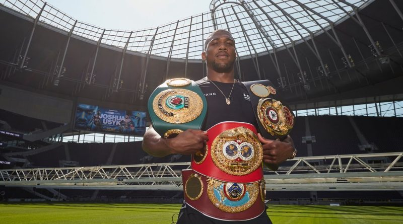 Anthony Joshua's night out in Tottenham to take on Usyk a trip down memory lane