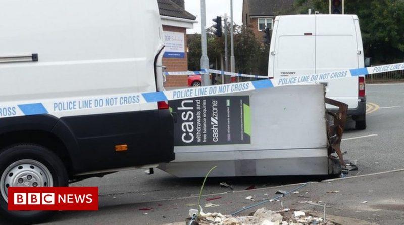 Attenborough ATM raid: Thieves wreck machine but flee empty-handed
