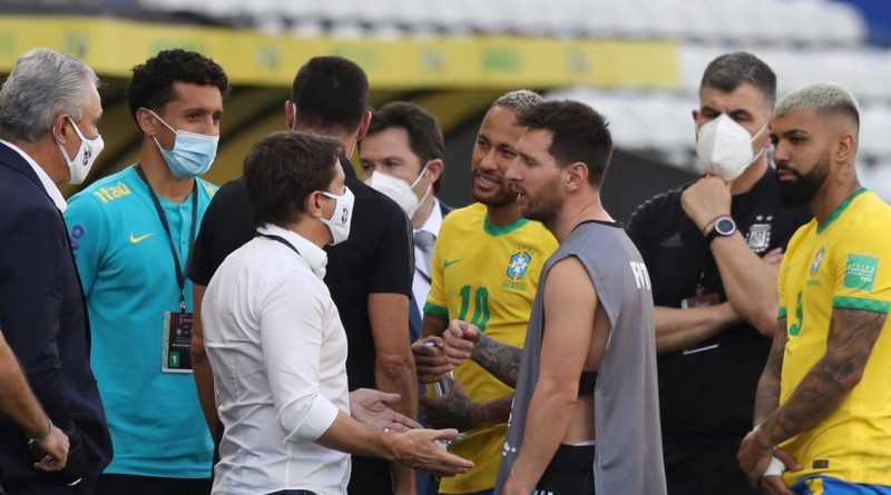 CONMEBOL release statement after Brazil vs Argentina descends into chaos