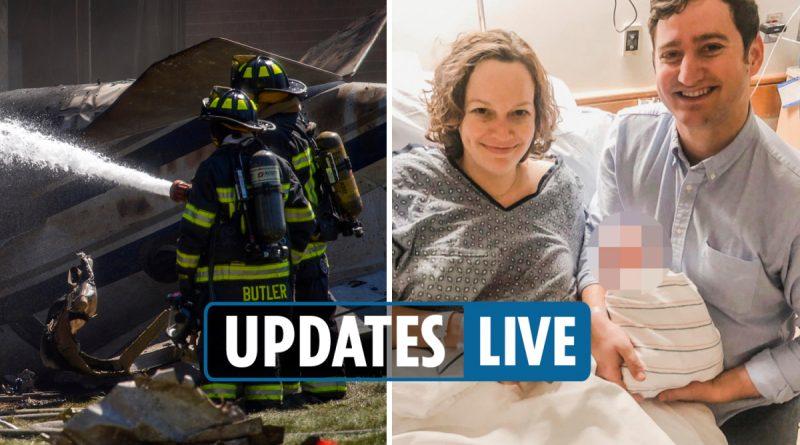 Connecticut plane crash victims identified as it emerges couple were pregnant