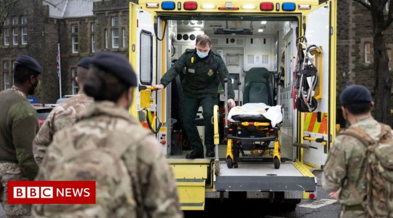 Covid: Welsh ambulance service asks for military help again