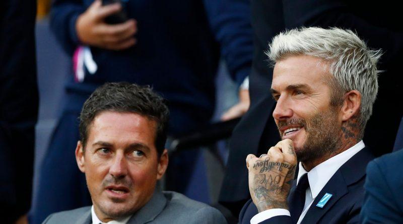 David Beckham dazzles Soccer Aid crowd at Etihad despite Phil Neville plea