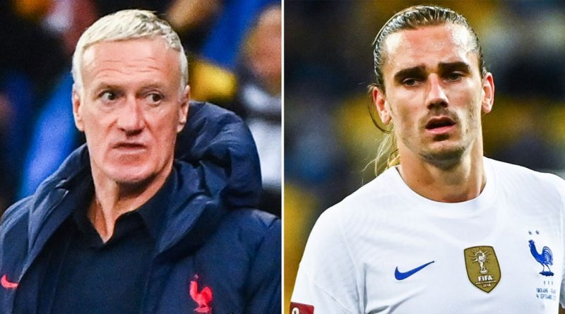 Deschamps under fire amid France's winless run and Griezmann's 'confusion'