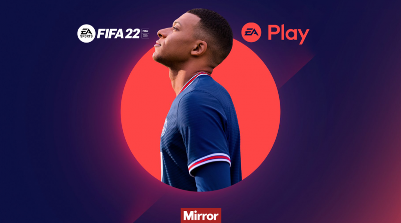FIFA 22 EA Play 20-hour trial instructions for PS5 and Xbox Series S/X