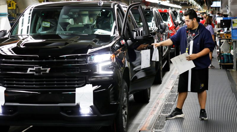 GM to significantly cut North American vehicle production due to chip shortage