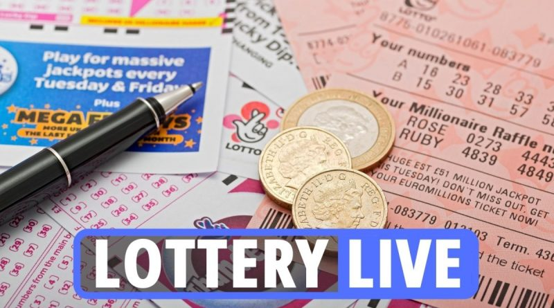 HUGE £15m Lotto jackpot up for grabs in draw TONIGHT
