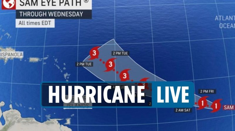 Hurricane to 'become Category 4' as trackers say it could go toward east coast