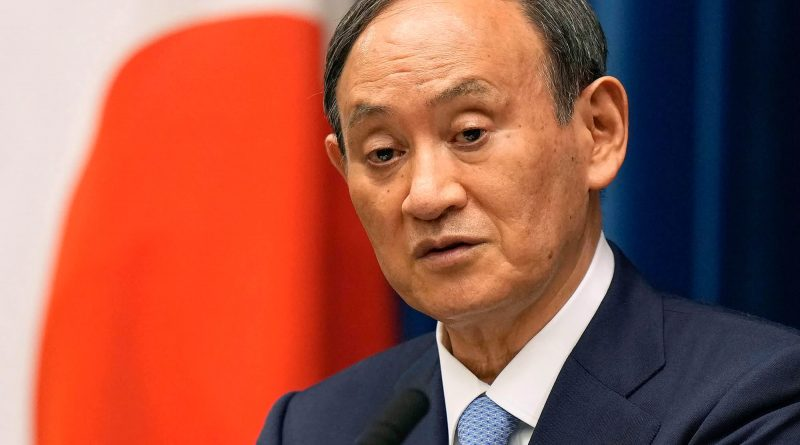 Japan's Prime Minister Yoshihide Suga won't run in next vote to lead party, report says
