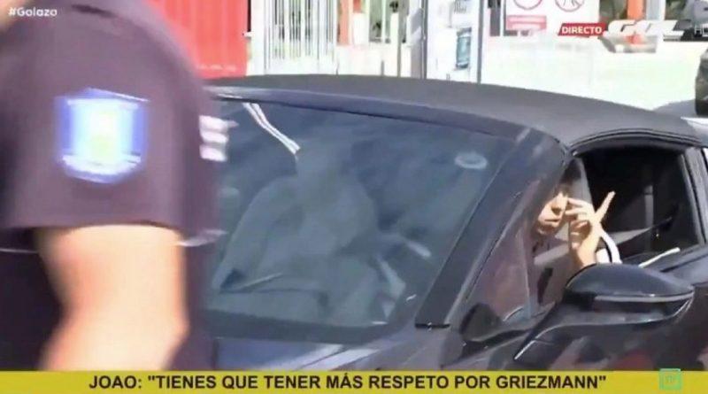 "Joao Felix clash after Atletico Madrid fan asked ""to injure"" Antoine Griezmann"