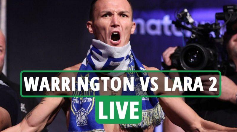 Josh Warrington vs Mauricio Lara 2 LIVE RESULTS: Conor Benn WINS, Katie Taylor on NOW - stream, TV channel, undercard