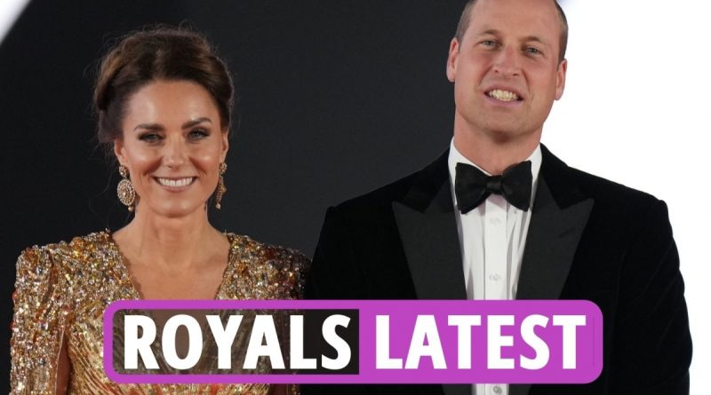 Kate Middleton & William DAZZLE as Royal Family attends Bond premiere