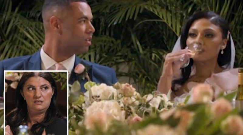Married At First Sight fans cringe as Alexis' mum slams wedding in cutting dig