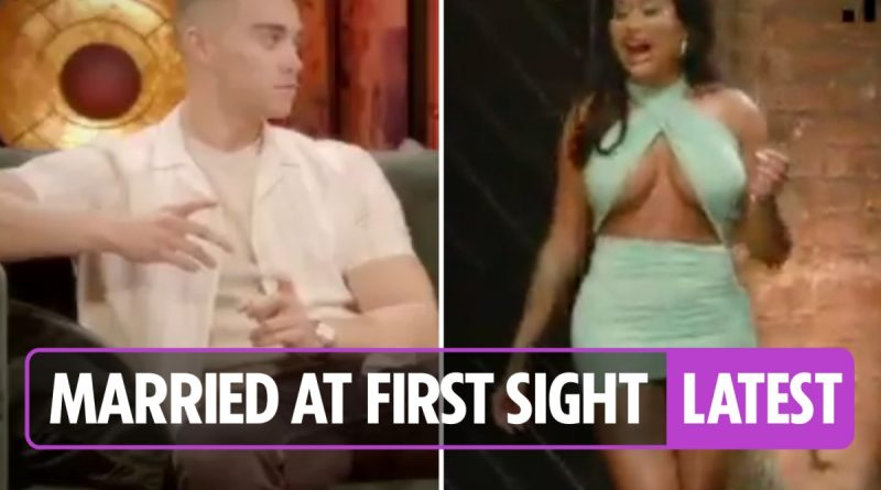 Married at First Sight's Nikita makes explosive return in reunion show