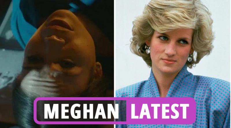 Meghan Markle dies in new film trailer as fans slam 'appalling' tribute