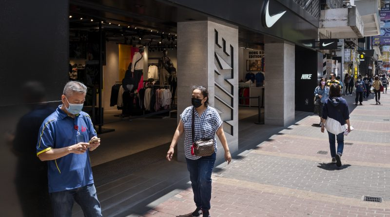 Nike shares fall as weaker sales in North American lead to revenue shortfall