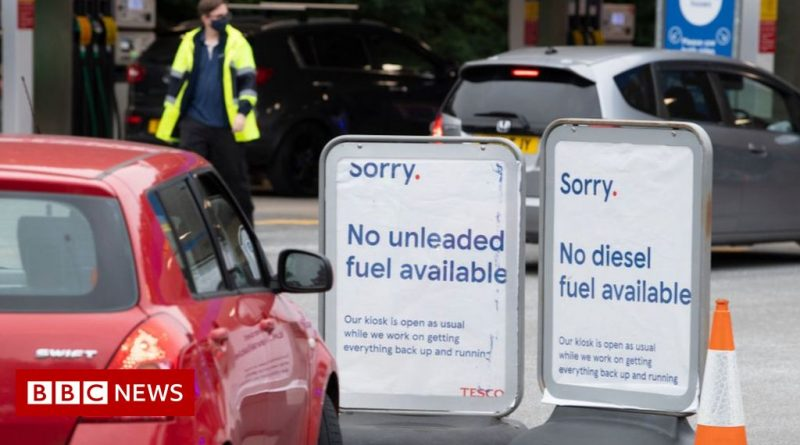 Petrol station boss says no need for chaos at the pumps