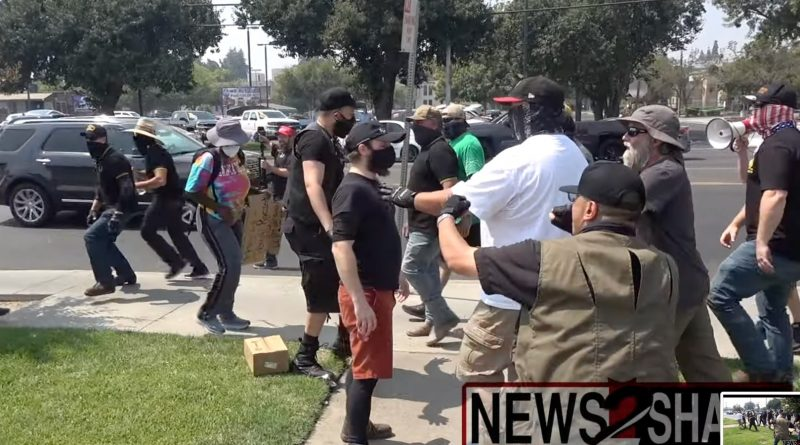 Proud Boys' so-called 'straight Pride' ends in chaos and violence