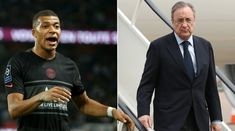 Real Madrid president Florentino Perez explains his Kylian Mbappe transfer plan
