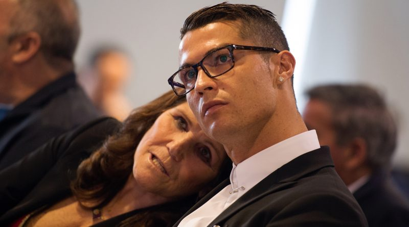 Ronaldo has banned mum from going to games after she fainted twice with nerves
