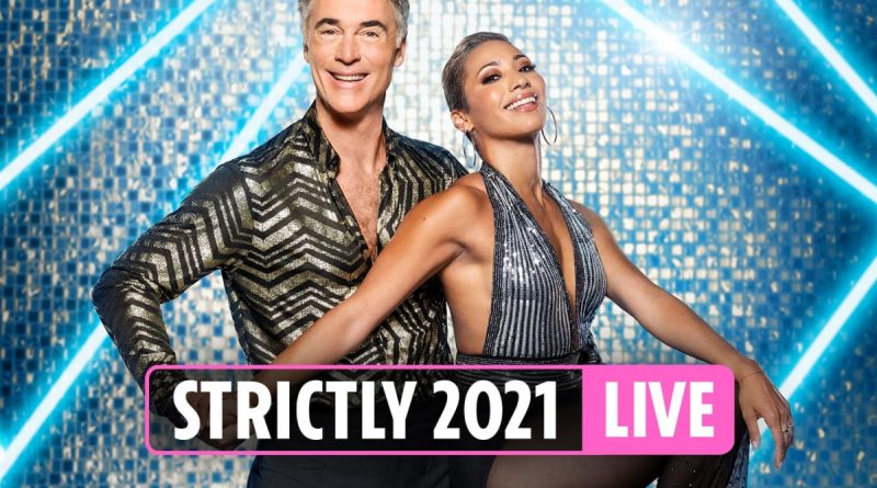 Strictly's Greg Wise paired with Karen Hauer as Katie McGlynn dances with Gorka