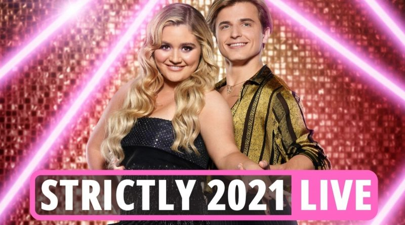 Tilly Ramsay & stars pair-up with Strictly 2021 pros in glitzy launch night