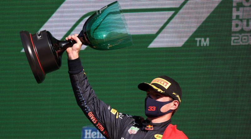 Verstappen win knocks Hamilton off perch as Mercedes star bemoans team tactics