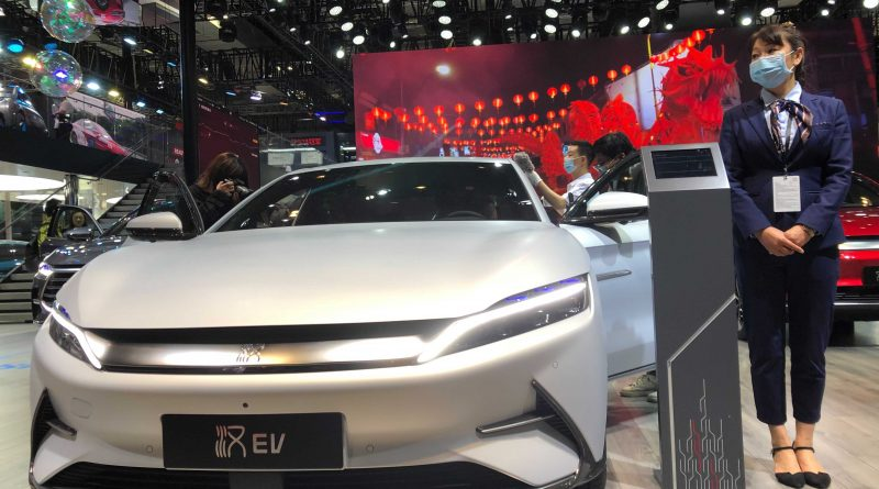 Warren Buffett-backed electric carmaker BYD sees August sales surge more than 300%