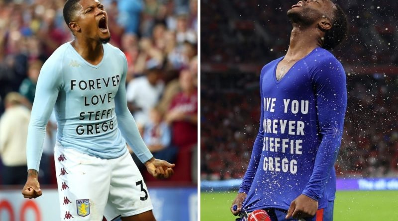 Who is Steffie Gregg and why did Raheem Sterling reveal a shirt with her name?