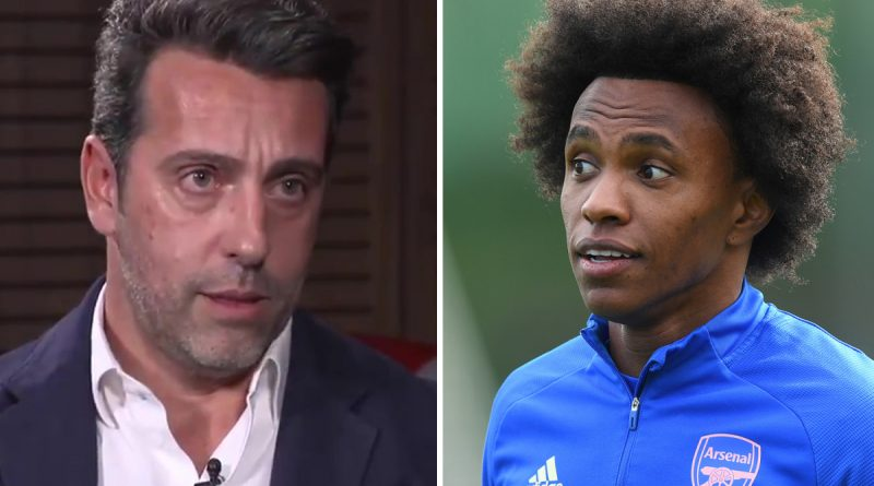 Willian 'wasn't 100 per cent comfortable at Arsenal', says transfer chief Edu