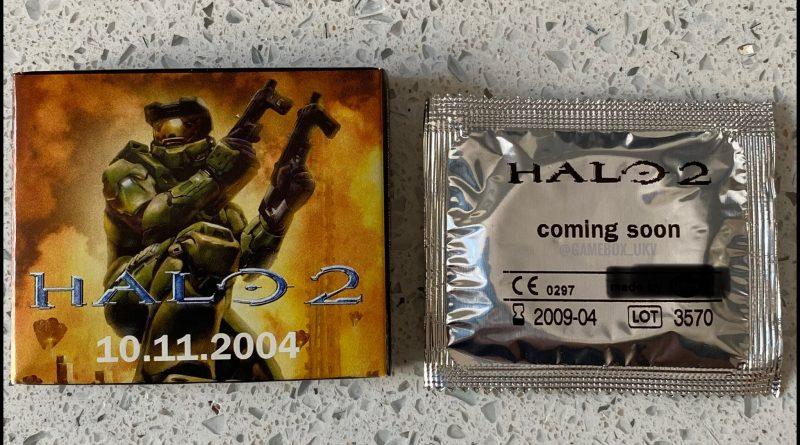 Halo 2 condoms from Xbox