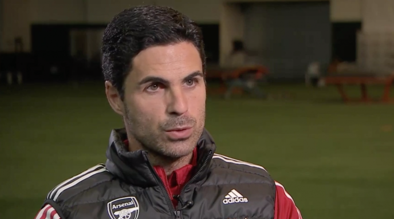 Arteta gives four reasons why he wouldn't want to play against Vieira