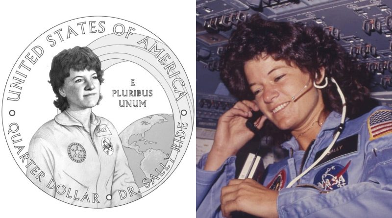 Astronaut Sally Ride to be first out LGBT+ person on US quarter