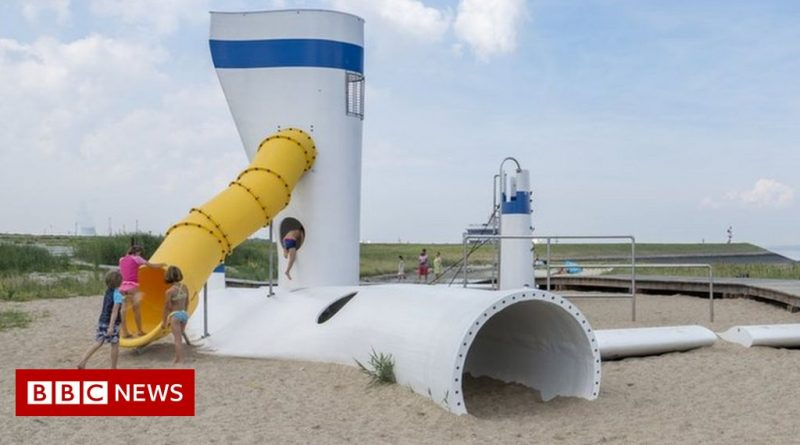 Could Scotland's unwanted wind turbines be turned into playparks?