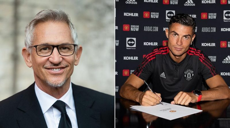 Cristiano Ronaldo's transfer to Man Utd was completed in Gary Lineker's garden