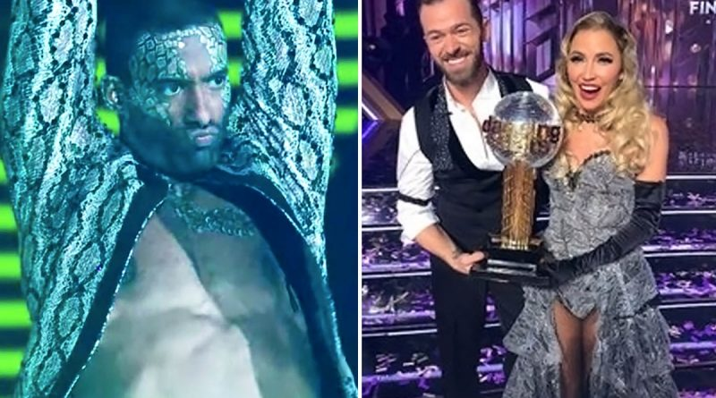 DWTS' Matt is lowest performing star from Bachelor franchise after shock exit