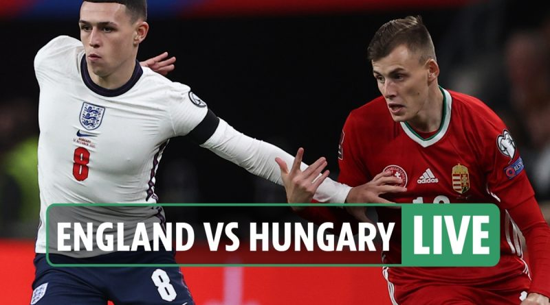 England vs Hungary LIVE: Follow all the latest from World Cup qualifier