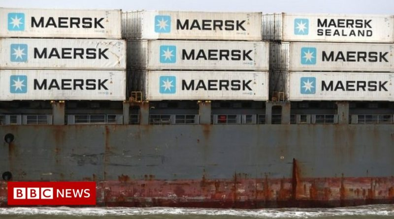Felixstowe port says HGV shortage a factor in container logjam