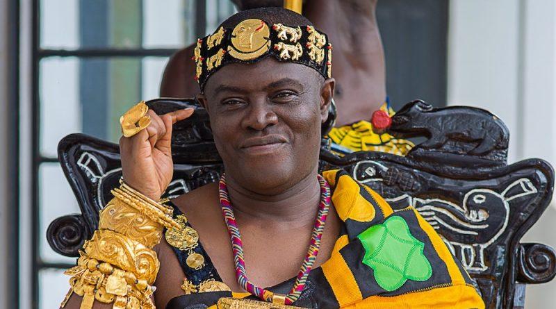 Osagyefo Agyeman Badu II in Ghana